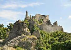 Durnstein城堡奥地利 库存照片