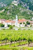 Durnstein in Österreich lizenzfreie stockfotografie