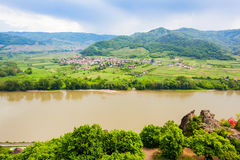 Durnstein, κοιλάδα Wachau, Αυστρία Στοκ εικόνες με δικαίωμα ελεύθερης χρήσης