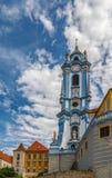 Durnstein-Abteikirche, Österreich Lizenzfreie Stockfotos