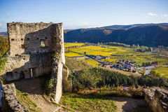 Durnstein castle. Stock Photography