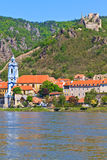 Durnstein on Danube (Wachau Valley), Austria Stock Photography