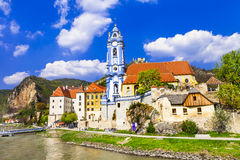 Durnstein , lower Austria. Wachau valley Stock Photo