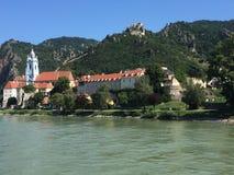 Durnstein Oostenrijk Donau Royalty-vrije Stock Afbeeldingen
