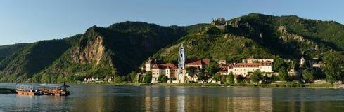 Durnstein, Wachau, Áustria imagens de stock