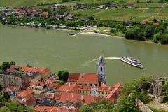 Durnstein, Wachau, Österreich Stockfoto