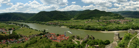 Durnstein, Wachau, Austria Imagenes de archivo