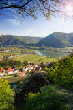 Durnstein Wachau dal _ Royaltyfri Bild