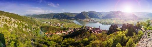 Durnstein Wachau dal _ Royaltyfria Bilder