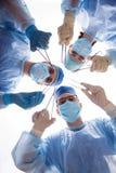 Duro lavoro di medici Fotografia Stock