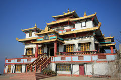 Durpin Monastery. Durpin or Zang Palri Frodong Monastery located in Kalimpong India Royalty Free Stock Photography