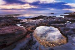 Durras Sea Rocks Shore Stock Photo