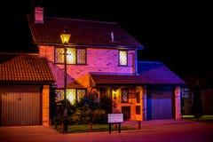 Dursley rodzina i Harry Poter dom w ligustr przejażdżce przy Warner braci Pracownianą wycieczką turysyczną zdjęcia stock