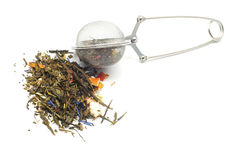 durszlak herbata Zdjęcia Stock