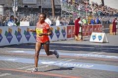 Duru Mulu Melka podczas Rzym maratonu 2016 Fotografia Royalty Free