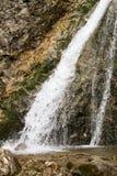 Duruitoarea瀑布(1210年m), Ceahlau断层块 免版税图库摄影