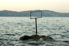 Durusu lake Turkey - sunset Royalty Free Stock Images