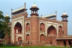 Durwaza in Taj Mahal Stock Afbeelding