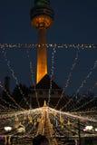Duryu Park Starry Night Illuminations night in Daegu South Korea Stock Images