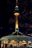 Duryu Park Starry Night Illuminations night in Daegu South Korea Stock Photos