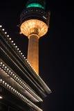 Duryu Park Tower Starry Night Illuminations night in Daegu South Korea Royalty Free Stock Photos