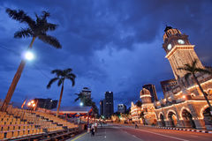 dus Куала Лумпур здания суда Стоковая Фотография