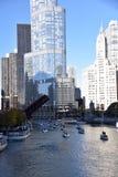 Мост DuSable Стоковое Изображение