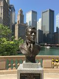 DuSable Bust Royalty Free Stock Photo