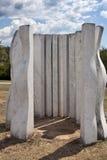 Dusan Dzamonja sculpture park Royalty Free Stock Images