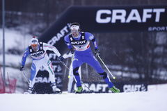 Dusan Kozisek in cross country final Stock Photography