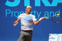Dusan Lojda - Prague open 2011 Stock Photo