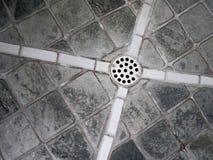 dusch för 2 drain Arkivfoto