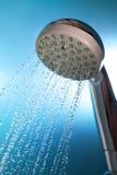 Dusch med running vatten Royaltyfri Foto