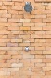 Dusch på väggen Fotografering för Bildbyråer