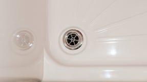 Duschabflussabschluß oben Lizenzfreies Stockbild