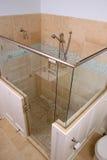 Dusche über Ansicht Stockbild