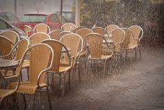 Dusche in Valencia Lizenzfreies Stockbild