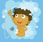 Duschezeit Lizenzfreie Stockbilder