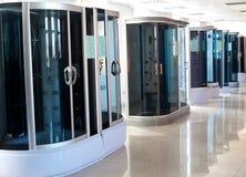 Duschezellen im Speicher Lizenzfreie Stockbilder