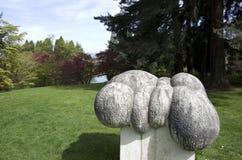 范Dusen Gardens 免版税库存照片