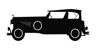 The Favorite Gangsters Car Stock Illustration Image Of