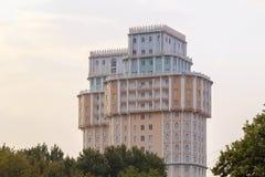 Dushanbeplein in Tadzjikistan Stock Afbeelding