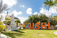 Dushi by Church Royalty Free Stock Image