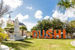 Dushi pela igreja imagem de stock royalty free