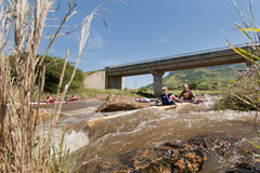 The Dusi Canoe Marathon South Africa Stock Image