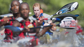 The Dusi Canoe Marathon South Africa Royalty Free Stock Photo