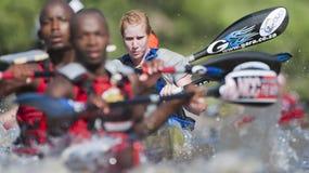 The Dusi Canoe Marathon South Africa royalty free stock photo