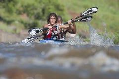 Dusi czółna maraton Południowa Afryka Zdjęcie Stock
