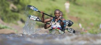 Dusi czółna maraton Południowa Afryka Fotografia Stock