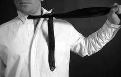 dusi krawat zdjęcie stock
